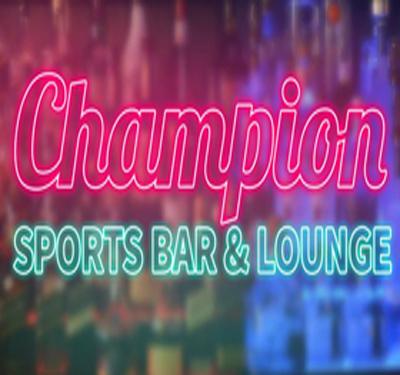 Champion Sports Bar & Lounge Logo