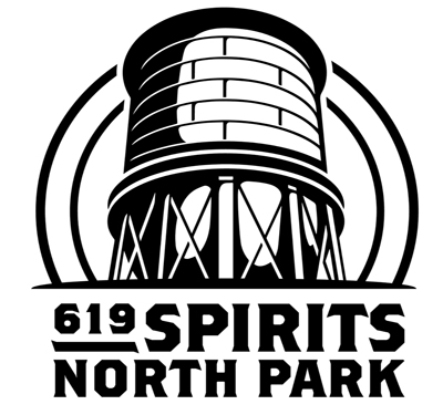 619 Spirits - North Park Logo