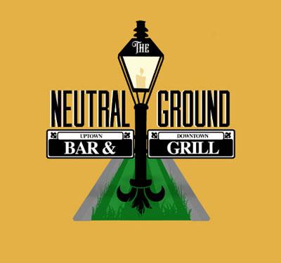 The Neutral Ground Bar & Grill Logo
