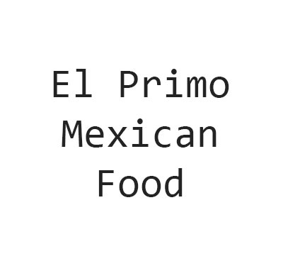 El Primo Mexican Food Logo