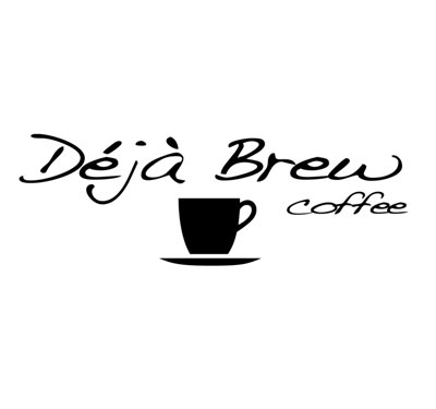 Deja Brew Artisan Coffee Bar Logo