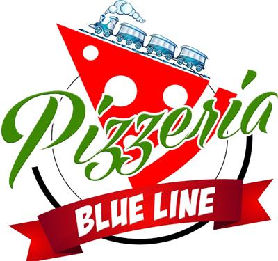 Blue Line Pizzeria Logo