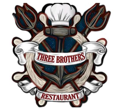 Three Brothers Restaurant Logo