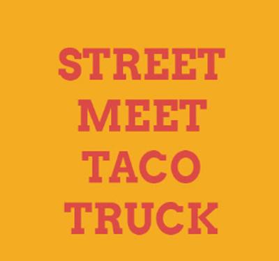 Street Meet Taco Truck Logo
