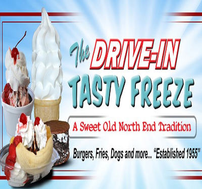 The Drive-In Tasty Freeze Logo