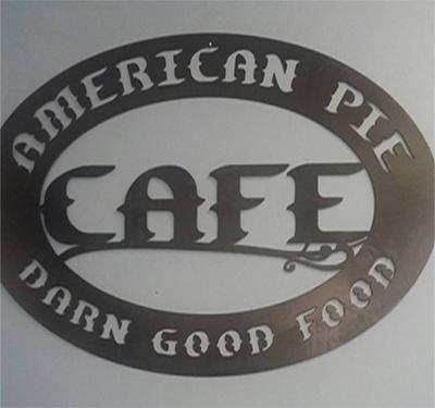 American Pie Cafe Logo