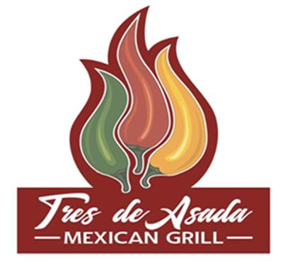 Tres de Asada Mexican Grill Logo