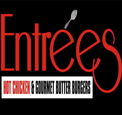 Entrees Hot Chicken & Gourmet Butter Burgers Logo