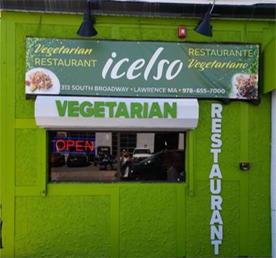Icelso's Vegan Restaurant Logo