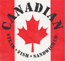 Canadian Steak, Fish & Sandwich Co. Logo