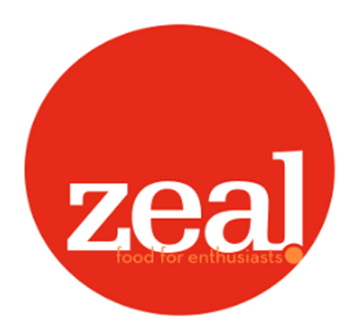 Zeal - Food for Enthusiasts Logo