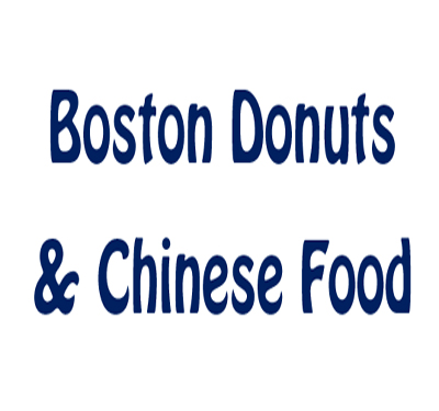 Boston Donuts & Chinese Food Logo