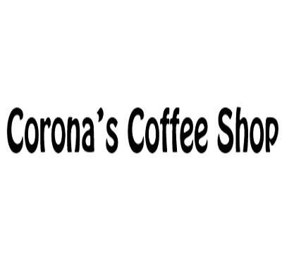 Corona's Coffee Shop Logo