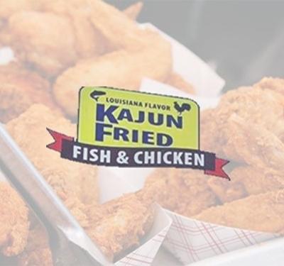 Kajun Fried Fish & Chicken Logo