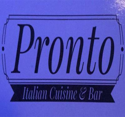 Pronto Italian Cuisine & Bar Logo