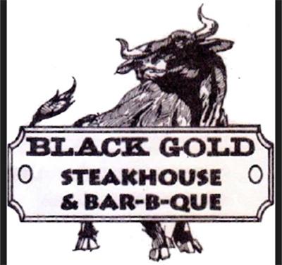 Black Gold Steak House Logo