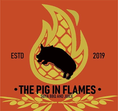 The Pig in Flames Logo