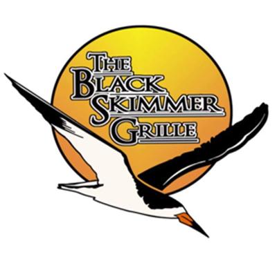 The Black Skimmer Grille Logo
