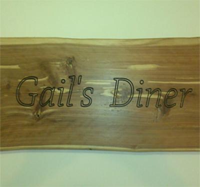 Gail's Diner Logo