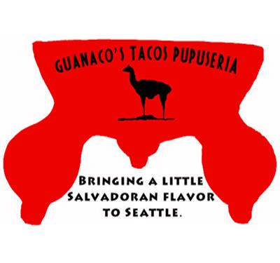 Guanaco's Tacos Pupuseria Logo