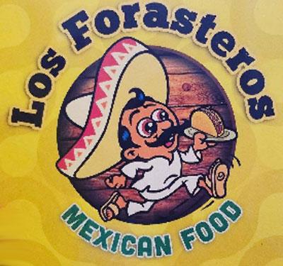 Los Forasteros Mexican Food Logo