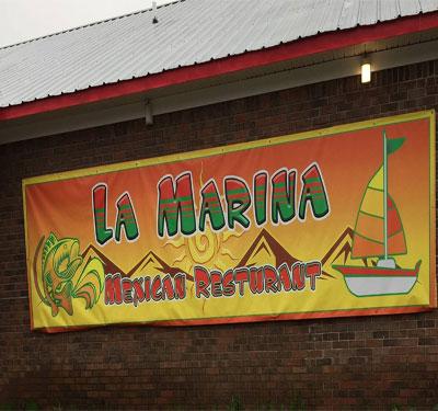 La Marina Mexican Restaurant Logo