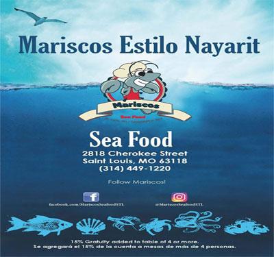Mariscos Seafood Logo