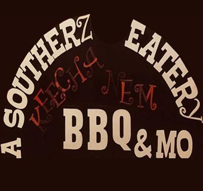 KEECHA NEM BBQ Southern Eatery Logo