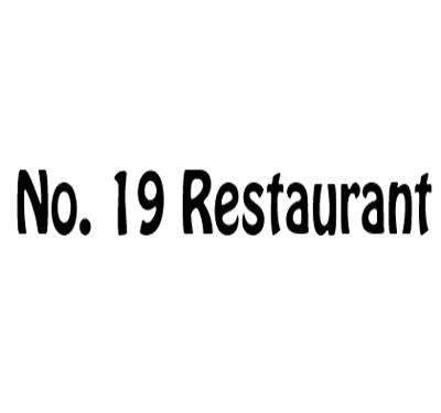 No. 19 Restaurant Logo