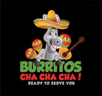 Burritos Cha Cha Cha Logo