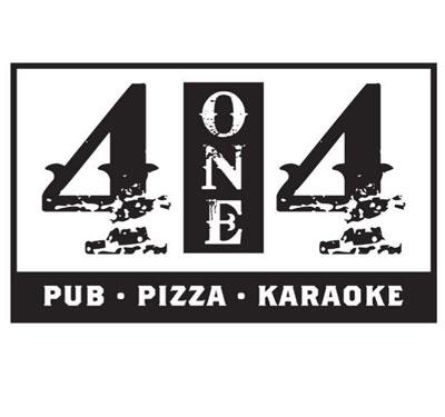 4one4 Pub & Pizza Logo