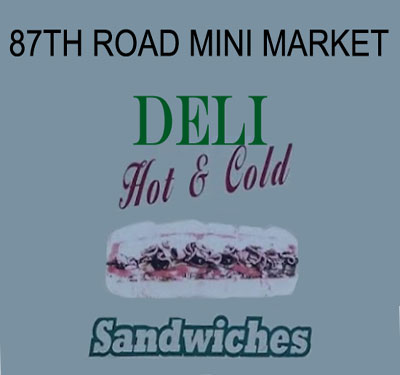 87th Road Mini Market Logo