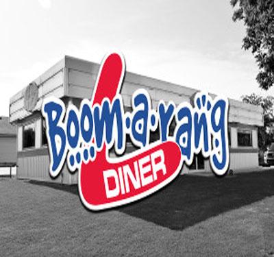 Boomerang Diner - Wagoner Logo