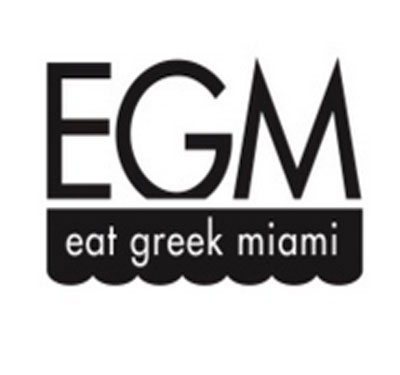 EGM Eat Greek Miami Logo