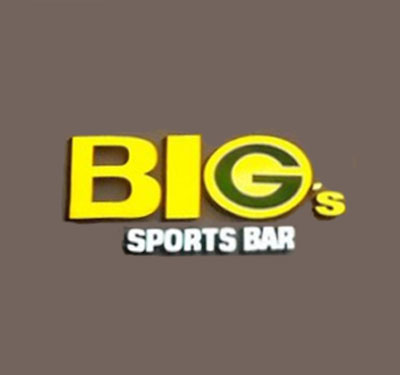 BIGGles Lounge Sports Cafe and Players Room Logo