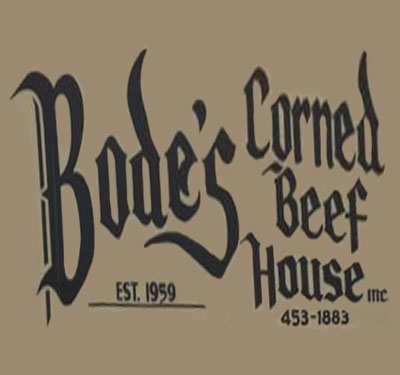 Bode's Corned Beef House Logo