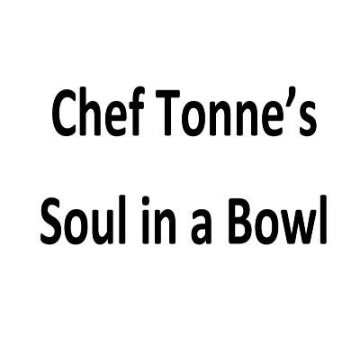 Chef Tonne's Soul in a Bowl Logo