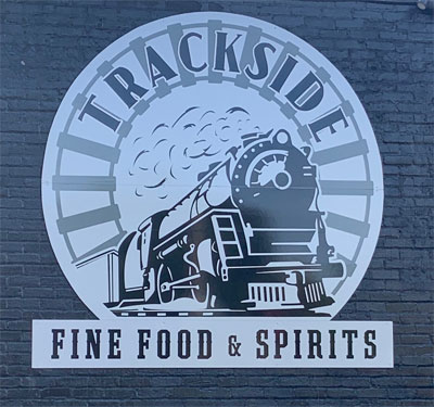 Trackside Fine Food Logo