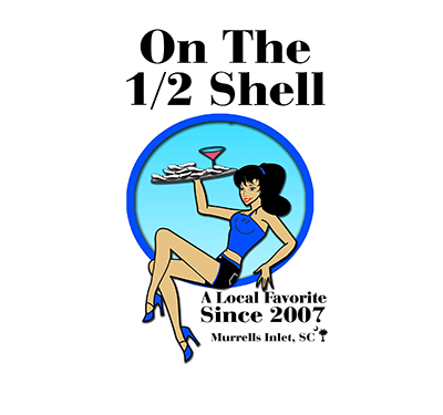 On The 1/2 Shell Logo