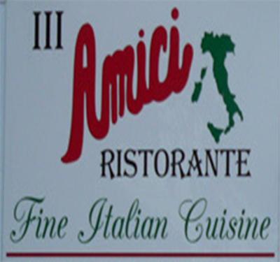 III Amici Ristorante Logo