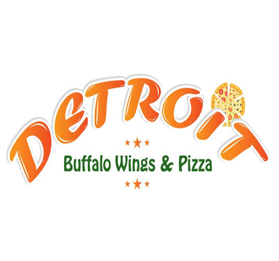 Detroit Buffalo Wings & Pizza Logo