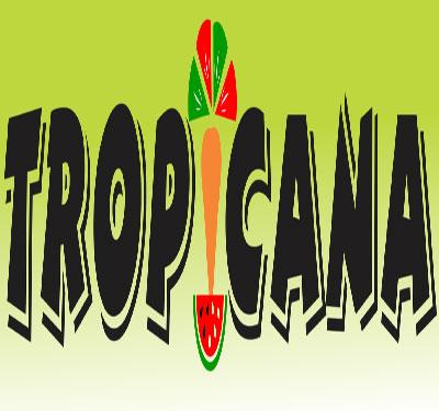 Tropicana Restaurant and Food Market Logo