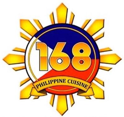 168 Philippine Cuisine Logo