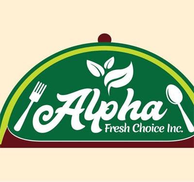 Alpha Fresh Choice Cafe Logo