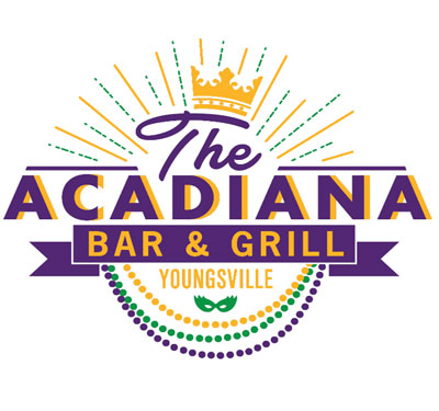 The Acadiana Bar and Grill Logo