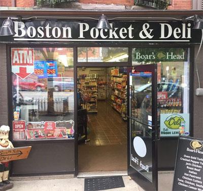 Boston Pocket & Deli Logo