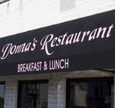 Donna's Restaurant Logo