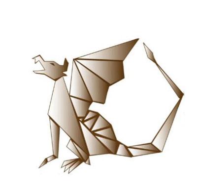 The Paper Dragon Logo