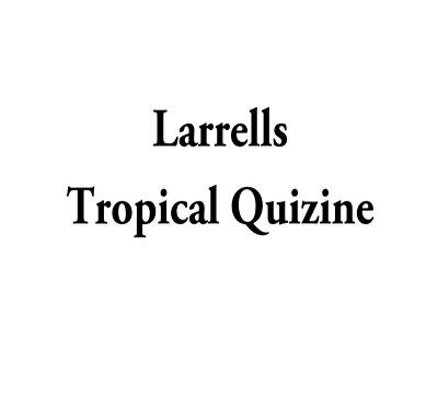 Larrells Tropical Quisine Logo