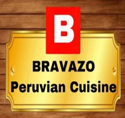 Bravazo Peruvian Restaurant - Corona Logo